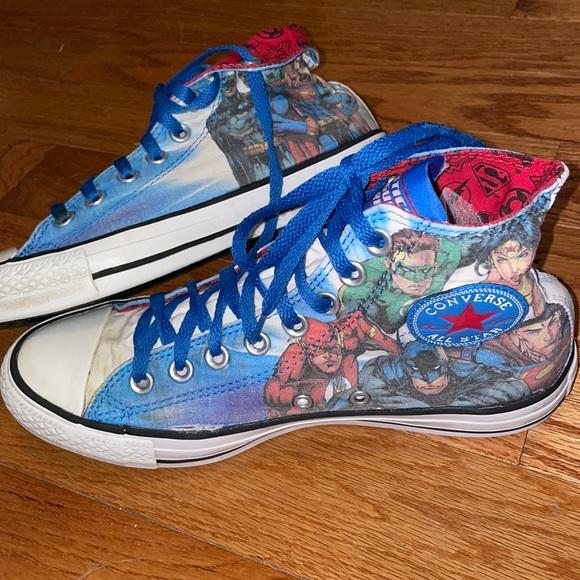 Men's Converse All Star Justice League sz 7
